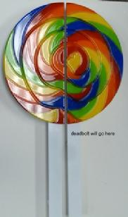 lollipop door pull handle.