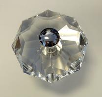 Large crystal knobs