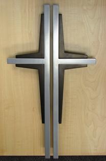 cross shaped door pulls