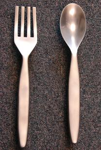 Large fork and spoon Pulls