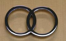 Infinity looped ring cabinet hardware First Impressions chrome