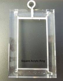 Square Acrylic Rings