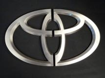Toyota door handle for car dealer