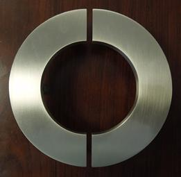Commercial door handles, C letters, Contemporary designer  door handles, contemporary door pulls, art deco door pulls