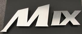 logo door handles stainless