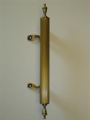 Polished Nickel Door Handles