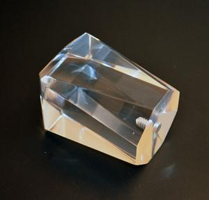 Diamond Shape Bevelled Acrylic Finial