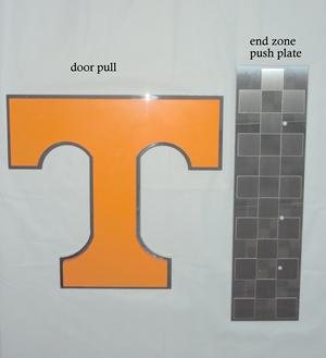 Tennessee vols custom door pulls