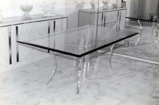 Attractive Handmade Clear Acrylic Table