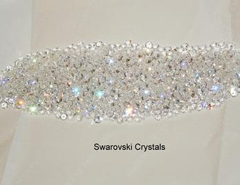 the swarovski crystals we use to fill our door handles and pulls.