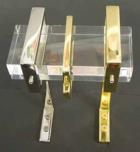 Acrylic/Lucite Curtain and Drapery Rods, Brackets and Rings ...
