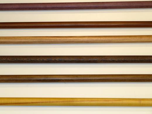 Exotic Woods Drapery Rods Poles First Impressions