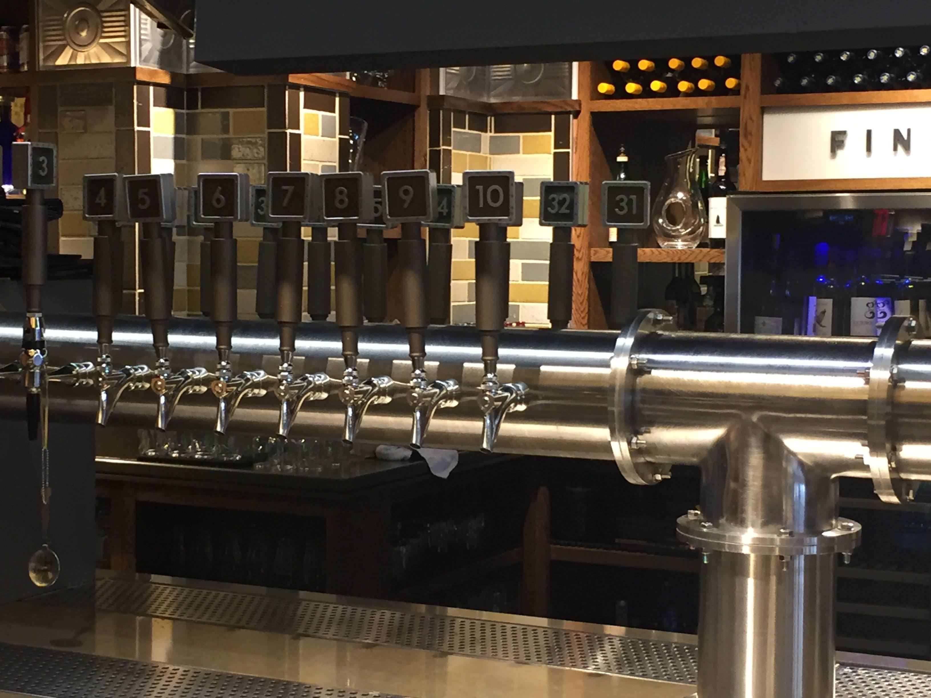 Custom Beer Tap For The Office Tavern Grill First