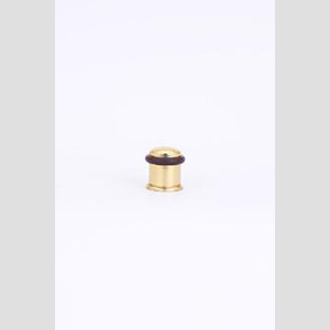 #1295 Floor Stop Shown In Polished Brass