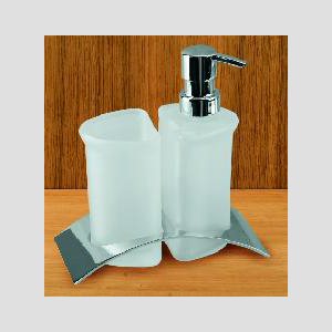 Free standing countertop bath accessories first for Bath countertop accessories