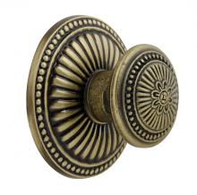 Boston 4 Metal Small Brass Door Knob Decorative Large Victorian Rosette Entry Appliance