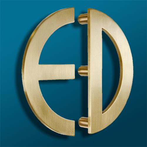 Custom ED Logo Door Handle/Pull