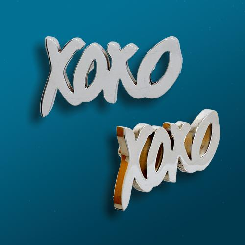 "Custom ""XO"" Cabinet Pull for IT Cosmetics"