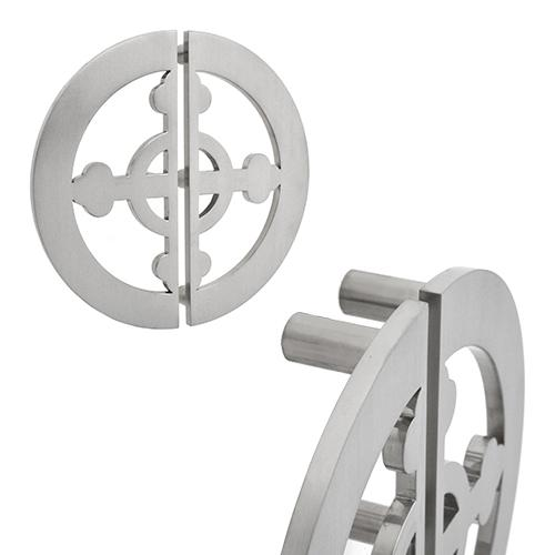 Custom cross Stainless Steel Door Pull handle