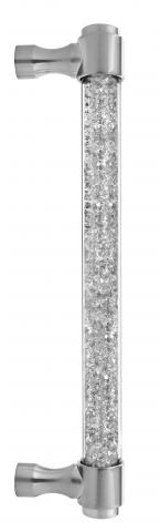 Atlantic 5 Acrylic Door Pull Handle Sliding Door Shower Door Diamonds Sparkle