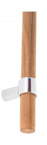 Baird 1 Wood Door Pull Handle Classic Contemporary Cabinetry Straight Brackets