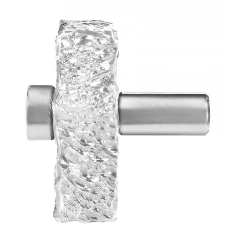 Clearwater 7 Chiseled Acrylic Door Knob Entry Conference Room Ice