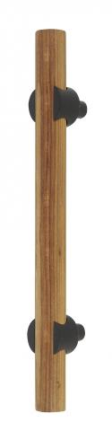 Columbia 1 Wood Round Door Handle Pull Rustic Classic Look