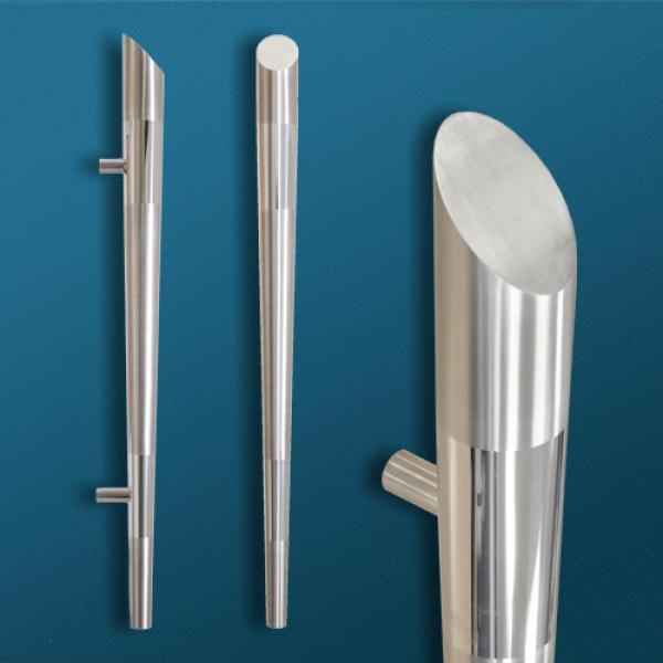 Custom Tapered Solid Door Handle First Impressions